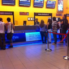 Photo taken at Cine Hoyts by Jose G. on 3/11/2012