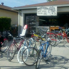 Photo taken at Warriors Bike Shop by Merwin 💞 V. on 3/16/2012