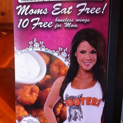 Photo taken at Hooters by chad r. on 5/10/2012
