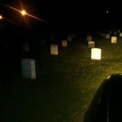 Photo taken at Hampton National Cemetery by Flash D. on 9/15/2011