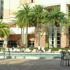 Photo taken at Rosen Centre Hotel by Pamelyn M. on 2/14/2012