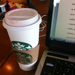 Photo taken at Starbucks by Jasmin M. on 4/25/2012