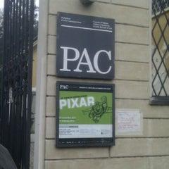 Photo taken at PAC - Padiglione d'Arte Contemporanea by caniodica on 12/11/2011