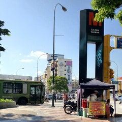 Photo taken at Metro - Los Dos Caminos by Hugo L. on 7/30/2012