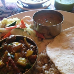 Photo taken at Kathmandu Restaurant by Ira S. on 7/20/2011