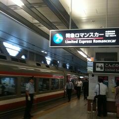 Photo taken at 小田急 新宿駅 2-3番線ホーム by Tamaki K. on 8/26/2011