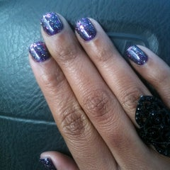 Photo taken at Siditty Kitty Nail Boutique by Jessica S. on 3/15/2011