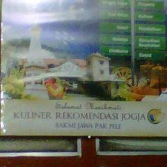 Photo taken at Bakmi Pak Pele by Iwan P. on 6/30/2012