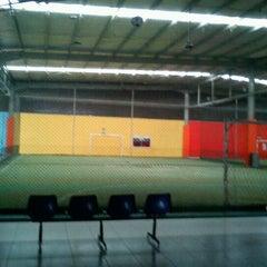 Photo taken at Mayasari Futsal by Mohamad I. on 1/6/2012