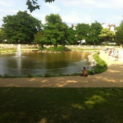 Photo taken at Bishop's Park by Mervyn D. on 8/12/2012