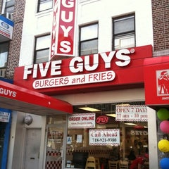 Photo taken at Five Guys by Joe G. on 4/11/2011