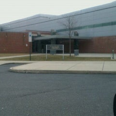 Photo taken at Northeast Middle School by Aaron on 1/14/2012