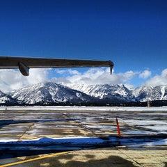 Photo taken at Jackson Hole Airport (JAC) by Idan C. on 2/15/2012