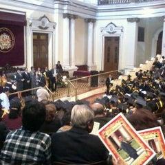 Photo taken at Facultad de Medicina San Fernando (UNMSM) by Lupus Albus E. on 7/7/2012