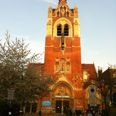 Photo taken at Union Chapel by Richard G. on 3/30/2012
