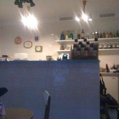 Photo taken at Cafe Roskosz by Kuba K. on 12/1/2011
