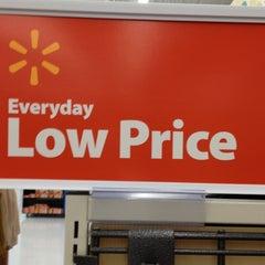 Photo taken at Walmart Supercenter by Nate S. on 11/28/2011