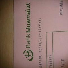 Photo taken at Bank Muamalat by Satya E. on 8/16/2012