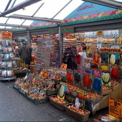 Photo taken at Bloemenmarkt by Rapha S. on 8/26/2012