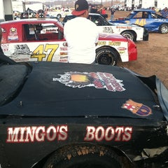 Photo taken at El Paso Speedway Park by Danny B. on 8/27/2011