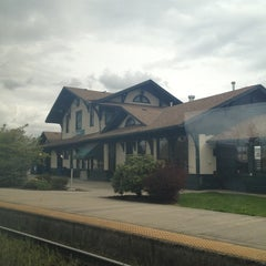 Photo taken at Vancouver Amtrak Station (VAN) by Allen S. on 4/16/2012