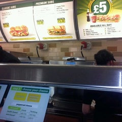 Photo taken at Subway by rob k. on 1/19/2012