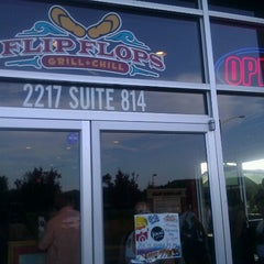 Photo taken at Flip Flops Grill + Chill by Patrick S. on 8/4/2012