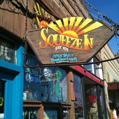 Photo taken at Squeeze In by Mary D. on 2/17/2012