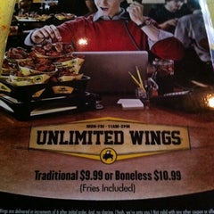 Photo taken at Buffalo Wild Wings by Richard A. on 8/9/2011