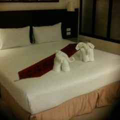 Photo taken at @ White Patong Hotel by Parisara on 1/12/2012