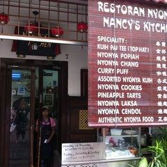Photo taken at Nancy's Kitchen Nyonya Cuisine by Pearl S. on 6/5/2011