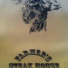 Photo taken at Farmer's Steakhouse by Arie v. on 8/16/2012