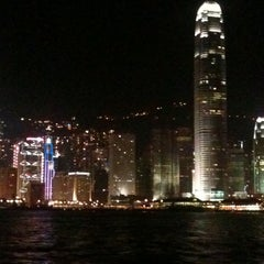 Photo taken at Victoria Harbour 維多利亞港 by Wong S. on 4/24/2011