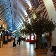 Photo taken at Gare SNCF d'Avignon TGV by Cécile L. on 11/14/2011