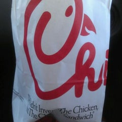 Photo taken at Chick-fil-A by Holly M. on 3/21/2012