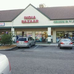 Photo taken at Indian Bazaar by Stephanie L. on 4/22/2012