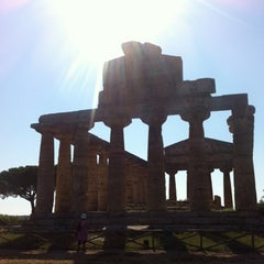 Photo taken at Area Archeologica di Paestum by Ivan P. on 8/16/2012
