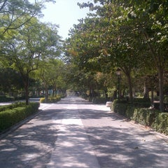 Photo taken at Jardins del Reial - Vivers by Carlyn on 9/9/2012
