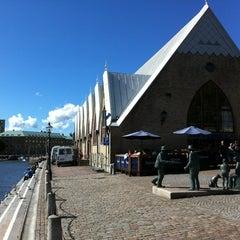 Photo taken at Feskekôrka by Erik K. on 8/11/2012