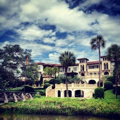 Photo taken at The Cloister at Sea Island by Stephanie W. on 6/8/2012