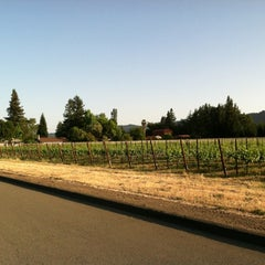 Photo taken at Beaulieu Vineyard's Rutherford House by Suzanne D. on 5/16/2012