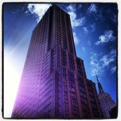 Photo taken at Residence Inn New York Manhattan/Times Square by Lorenzo M. on 3/29/2012