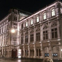 Photo taken at Wiener Staatsoper by Janusz M. on 9/1/2012