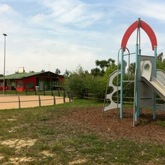 Photo taken at Parco Urbano Del Fiume Ombrone by Fabio S. on 5/31/2012