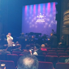 Photo taken at Fitzgerald Theater by Stephanie E. on 3/3/2012