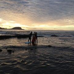 Photo taken at Playa Los Tubos by Alejandro B. on 7/1/2012