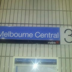 Photo taken at Platforms 3 & 4 by Christian D. on 3/30/2012