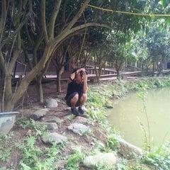 Photo taken at Khu Du Lich Sinh Thai Vuon Xoai by Cuong M. on 3/7/2012