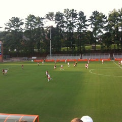 Photo taken at Historic Riggs Field by Emily F. on 8/11/2012