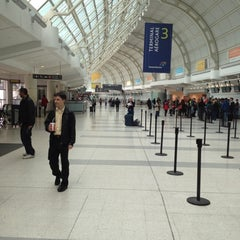 Photo taken at Terminal 3 by Cameron W. on 4/26/2012